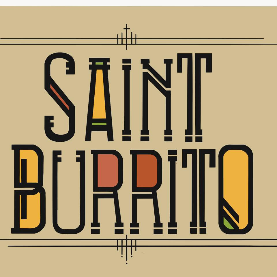 Saint Burrito logo