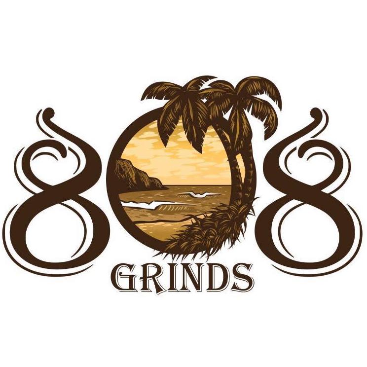 808 Grinds logo