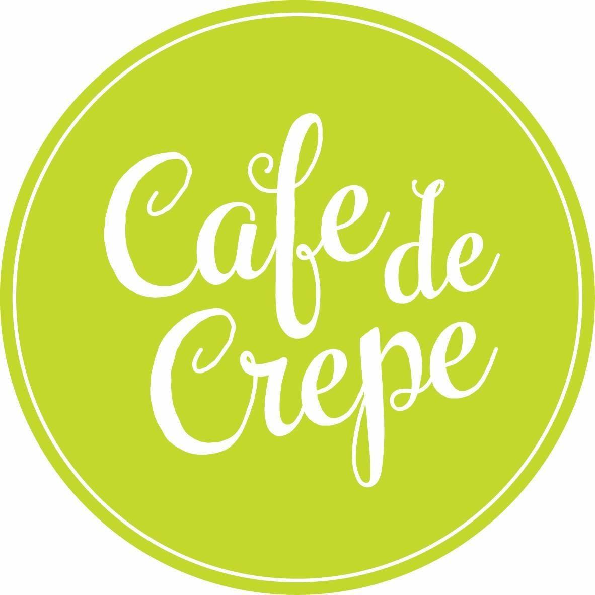 Cafe De Crepe logo