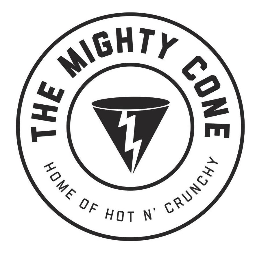The Mighty Cone logo