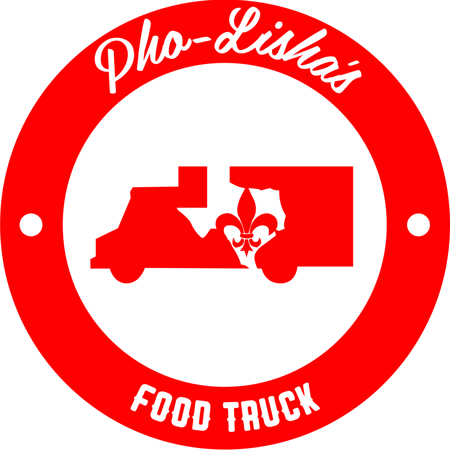 Pho-Lisha's Food Truck logo