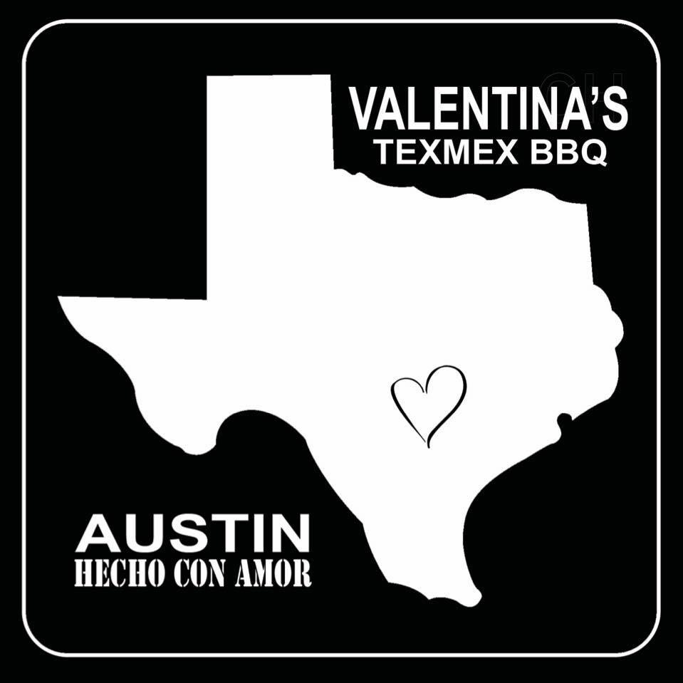 Valentina's Tex Mex BBQ logo