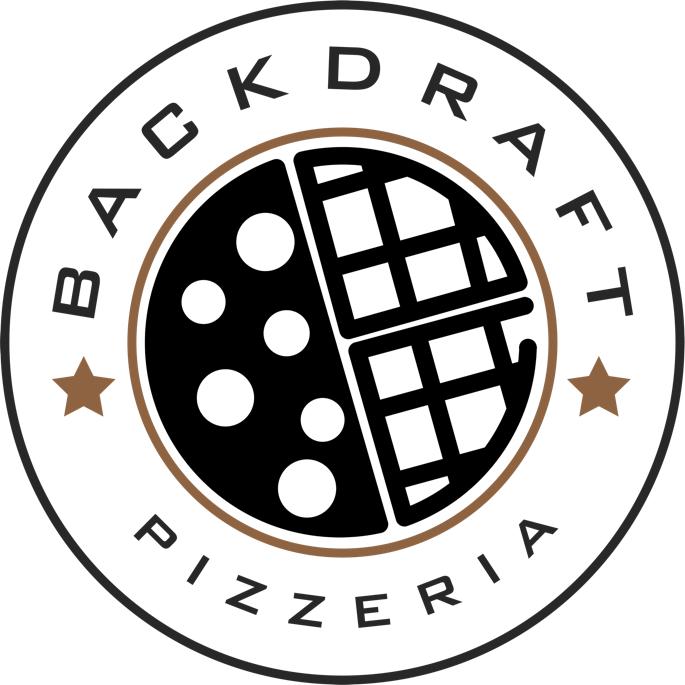 BackDraft Pizzeria logo