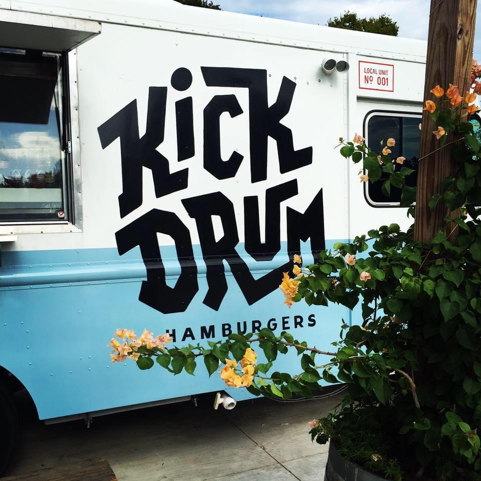 Kick Drum Burgers logo
