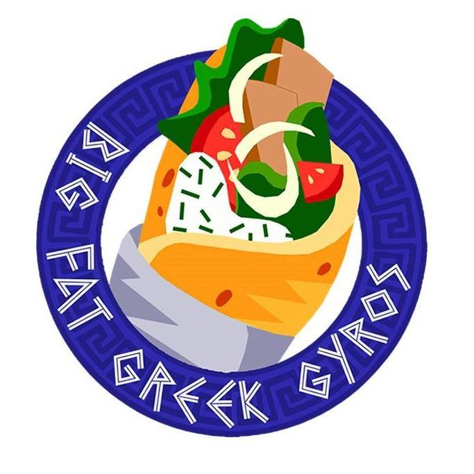 Big Fat Greek Gyros logo