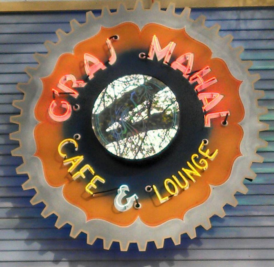 G'Raj Mahal Café logo