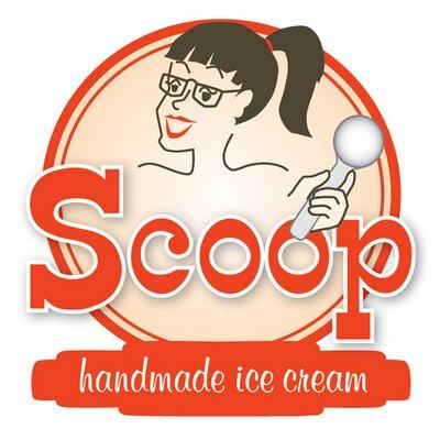Scoop Handmade Ice Cream logo