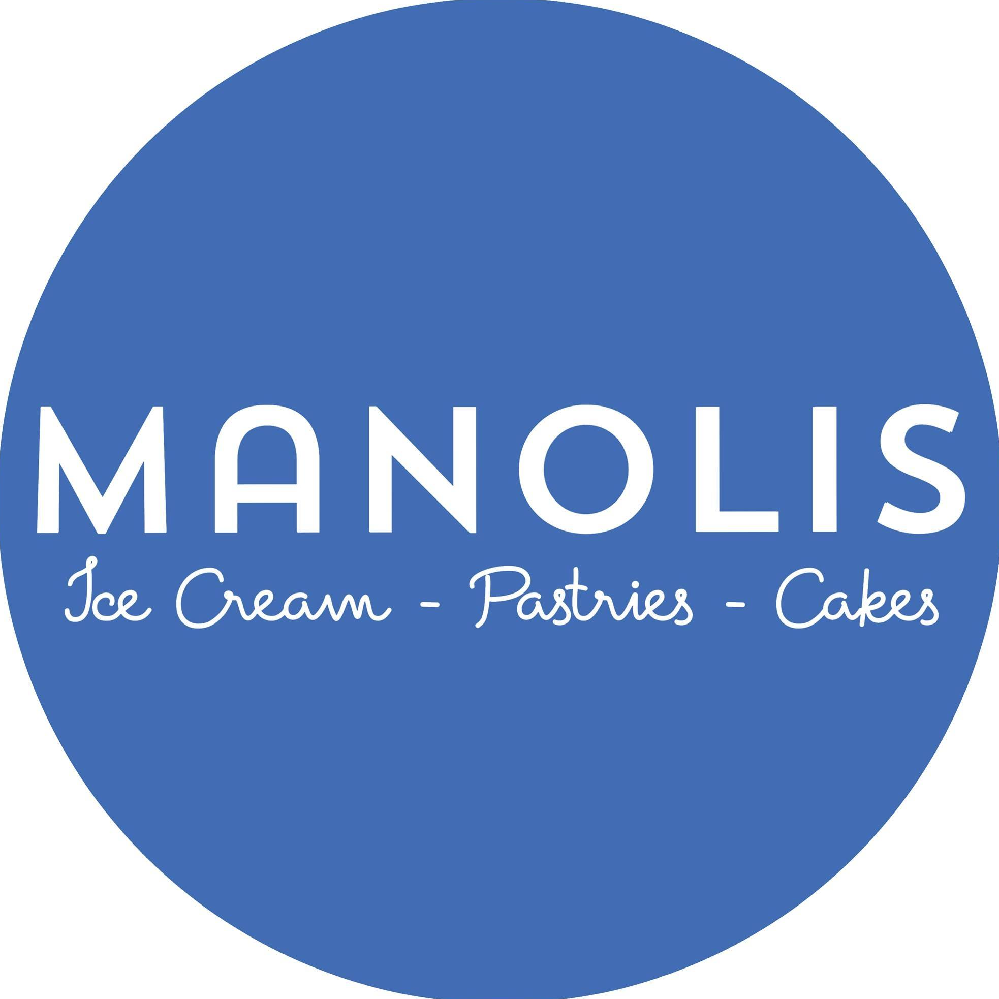 Manolis Ice Cream, Pastries, & Cakes logo