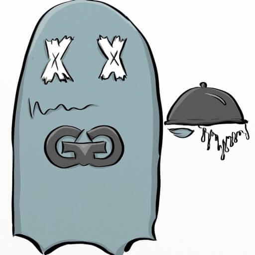 Gourmet Ghost - VOODOO BBQ logo