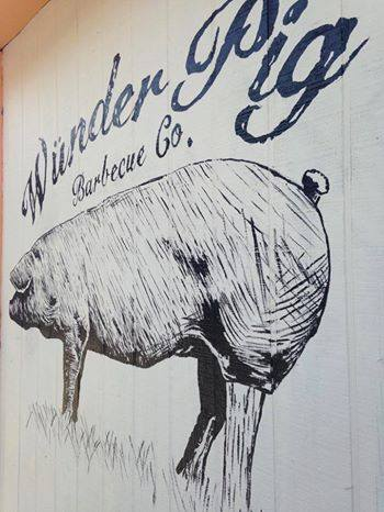 Wunder Pig Barbecue Co. logo