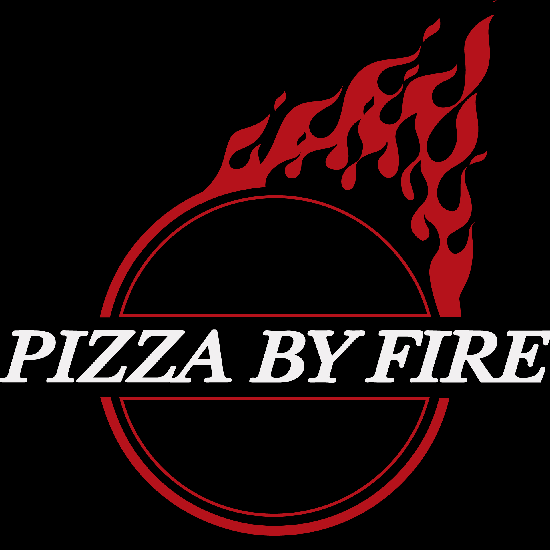 Pizza By Fire logo