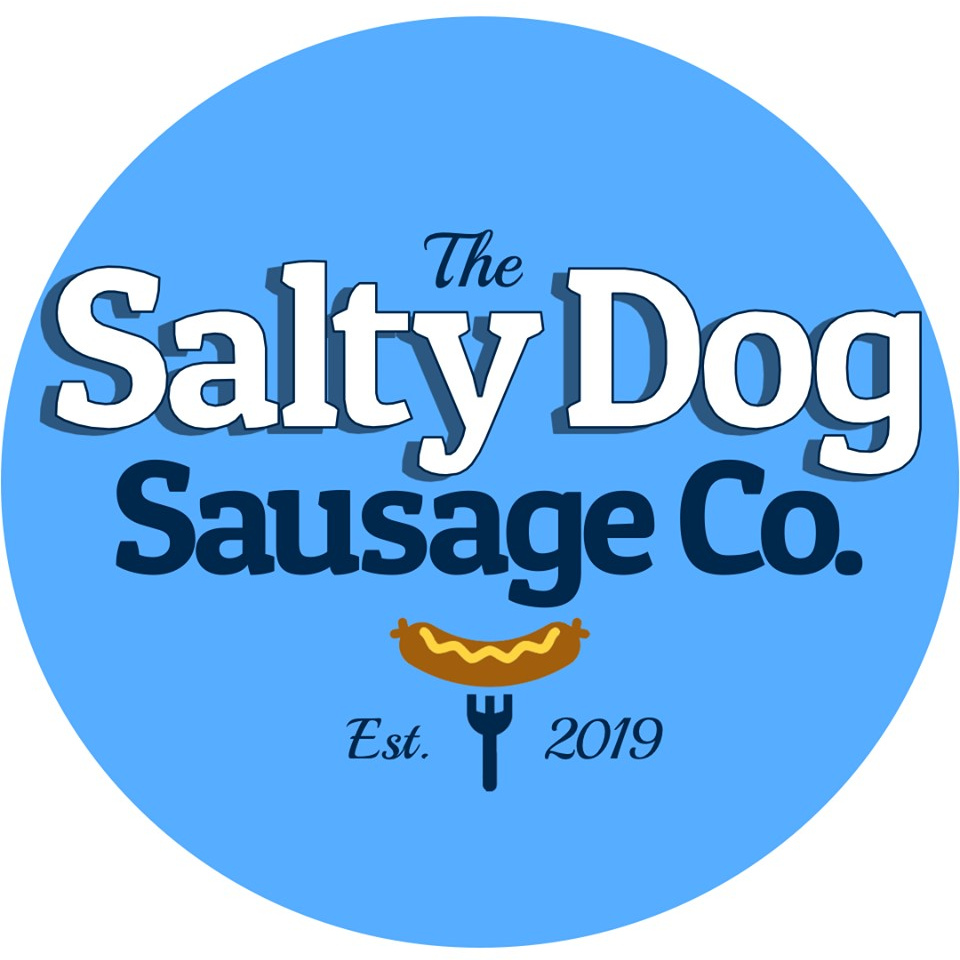 The Salty Dog Sausage Co logo