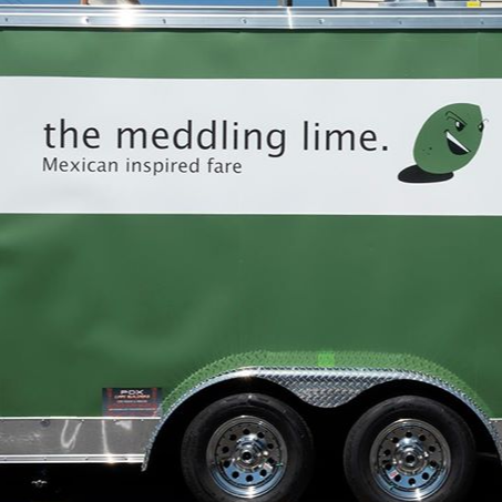 The Meddling Lime logo