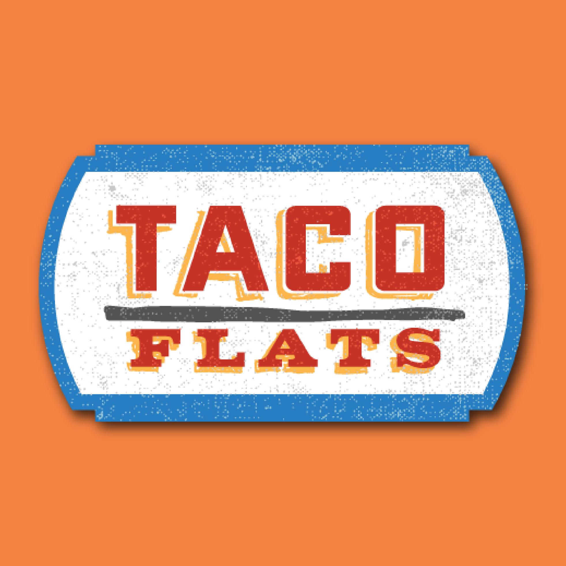 Taco Flats Truck logo