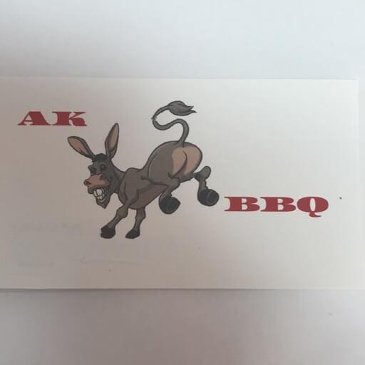 AK BBQ logo
