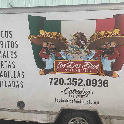 Los Dos Bros Mexican Food Truck logo